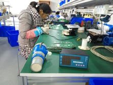 Production workshop of Ultrasonic level meter