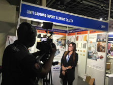 Exhibition in South Africa Interview