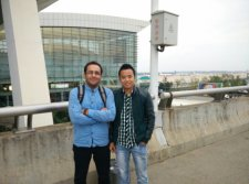Pick Friendly Customer in Airport