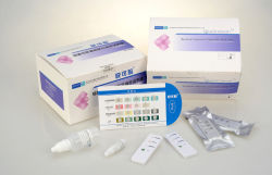 Bacterial vaginosis diagnostic strip sets