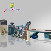 Magnetic stripe extruder production line