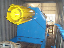 Loading 5 tons hydraulic uncoiler