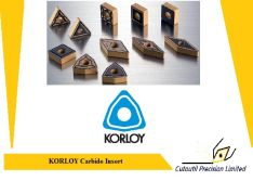 Korloy all range carbide inserts available for ordering korloy tools