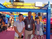Maxload Electric Chain Hoist on Canton Fair