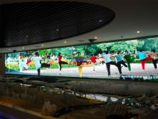 P4 HD indoor LED display screen for Changsha gymnasium ,90 square meters