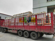 Packing of insulated glass and tempered glass