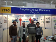 Zhuoya at 2014 Saudi 4P Exhibition