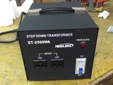Supply customized 2500VA step down transformer to USA 2017-11