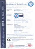 CE Certificate of Reverse Osmosis Water Treatment Equipment