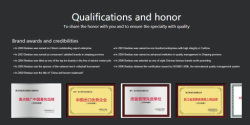 Qualifications and honor