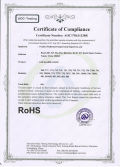 RoHS certificate for LED alarm clock