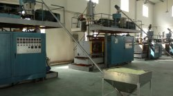 Blowing molding machine