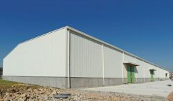 Warehouse&workshop steel roof construction structurel