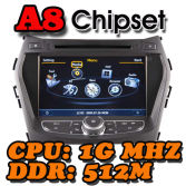 WITSON A8 Chipset S100 platform Car DVD Player With GPS For HYUNDAI SantaFe / ix45 2013
