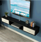 Custom Factory Melamine New Wooden Modern TV Cabinet
