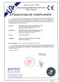 Attestation of Compliance1