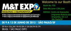 M&T EXPO 2015 in Brazil