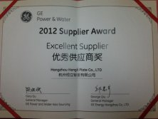 GE Power & Water Excellent Supplier