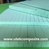Double Cuts PVC Foam Core Material with High Temperature Resistance