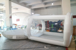 Hot ! Transparent PVC Bubble Tent/Inflatable Clear Dome Tent for sale