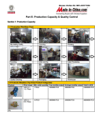 BV Certificate of Production Process