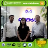 Bangladesh Customer Visited Office for Meeting on Wheel Loader
