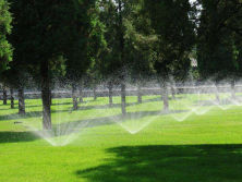 Landscaping irrigation