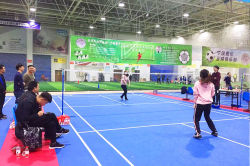 2018 Nide Women′s badminton game