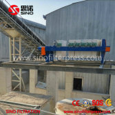 Concret Wastewater Filter Press
