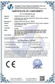 CE-LVD Certificate of Infrared Detector