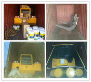 8TON log loader shipped to Congo
