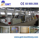PVC Fauk mable sheet extrusion line