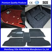 Non-Toxic and Tasteless Double Color Sprayed Coil car foot mat