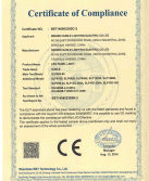 CE certificate of LED panel light