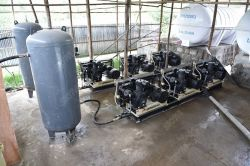 High pressure air compressor system