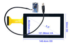 "5.5"" Capacitive Touch Screen _ CT-C8142"