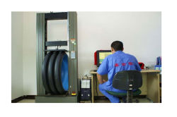 Ring Stiffness testing of double corraguted pipe