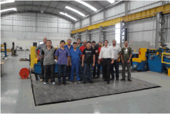 Our Slitting Line and Cut to Length Line which installed in Brazil