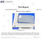 REACH report for silicone raw material