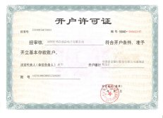 Basic account certificate
