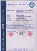 CE certificate for drum dryer