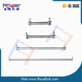 Ringlock System Parts Ledger, Horizontal, Ledger horizontal tube