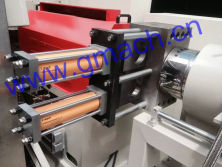 Double plate type continuous screen changer