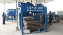QT10-15D block machine in Yangon