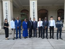 2019.4 Received Chad delegation in Chongqing Foreign Affairs office