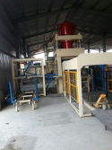 HF850 non vibration brick machine in HCM, Vietnam