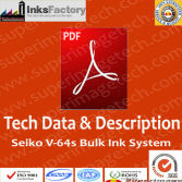Tech.Data and manual for Seiko V64s printers