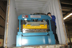 ZYYX38-250-1000 Roof Roll Forming Machine To Egypt
