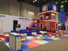 2017 IAAPA at Arlando-Finished Installation