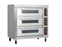 stainless steel triple-layer nine-tray electric oven